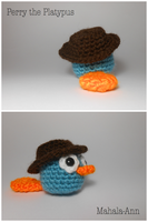 Perry the Platypus by Mahala-Ann