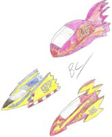 F-Zero Vehicles Unleashed by BlackCarrot1129