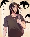 Uchiha Itachi Crows by olympicvanilla