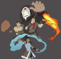 The Legend of Korra (Colored) by MattPichette