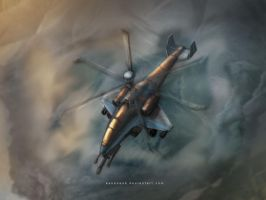 Firewave Attack Helicopter by KaneNash