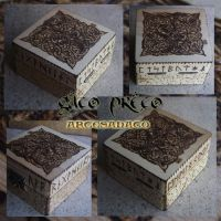 Knotwork Wood Box by GatoPretoArtesanato