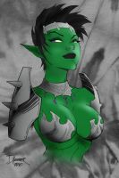 Goblin Queen by Powerstream by TheSteampunker