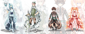 Chess characters 2 by Pinlin