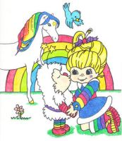 Rainbow Brite by JazIllustrations