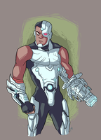 Cyborg! by Marcos-A-Rodrigues