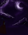 Looking Up at the Night Sky by ArcaneArc