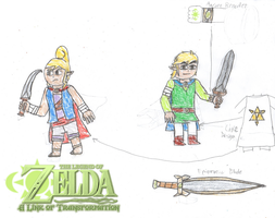 A LInk of Transformation: Link and Tetra Designs by EximiusMax