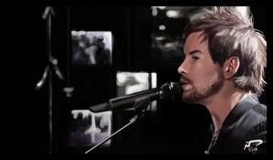 David Cook Painting 6 by Majoh