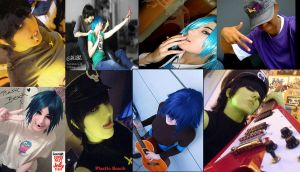 GoRiLLaZ Cosplayers Tribute 3 by Kittykattykitkat