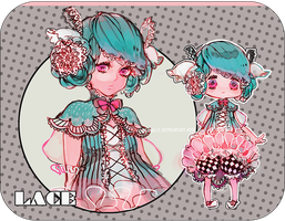 [Adoptables#1] LACE (closed) by renos13