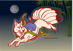 Kitsune by Xenothere