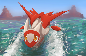 Summer Latias by Frozenspots