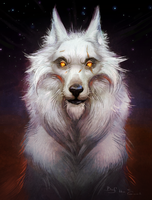 White Wolf by Amenlona