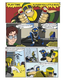 Spiderman Weaver Comic pg8 by KGH786