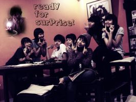 surprise for our sist by tetehrocker