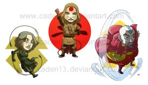 Legend of Korra Chibis 2 by Caden13