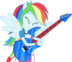 Rainbow Dash - Equestria Girl 2 Rainbow Rocks by negasun