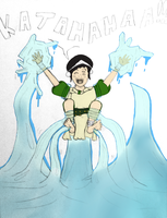 Toph water bending tickled by aidan5 by neverb4