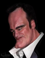 Quentin Tarantino by creaturedesign