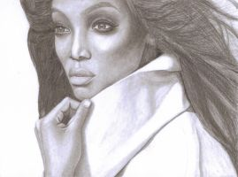 Tyra Banks by SophieReddyArt