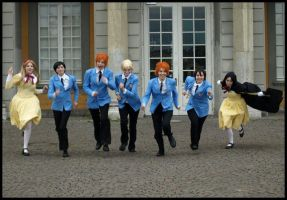 Ouran Run by kurui-chan
