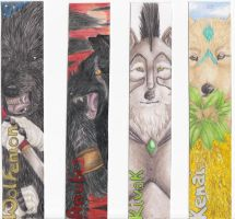 Bookmarks: Lycans by NizhoniWolf