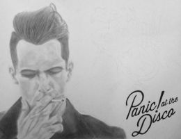Brendon Urie - Too Weird to Live... (W.I.P.) by BadHairDayGamer