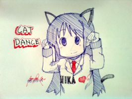 Cat Dance by mikadolegaste