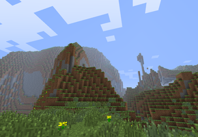 Minecraft - Nice Mountains by Baracuss1