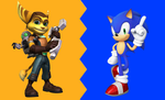 Ratchet And Sonic Wallpaper by Millerwireless