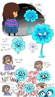 Echo Flowey by BlueOrca2000