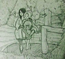 Back to Kohona Forest-sketch by HaHaenigma