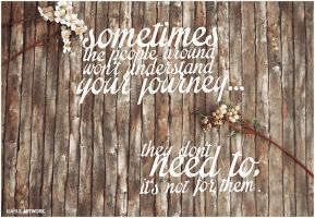 sometimes... quote papercut by KiaSuee