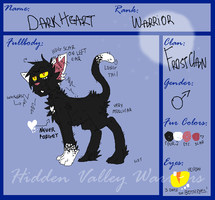 .DarkHeart Reference UPDATE. by cho-click