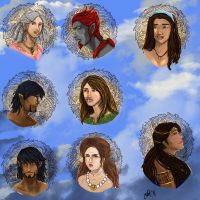 Headshots for Gaia by Uneide