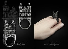 3D Cathedral ring by Euflonica