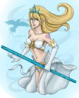 League of Legends - Janna by Aiseya