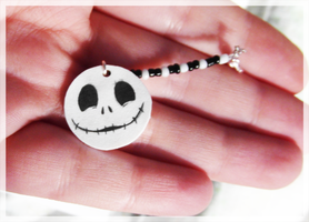 Jack Skellington Charm by FelineMyth