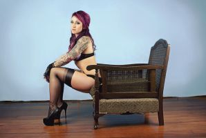 Alt Women With Classic Furniture Ciara IV by Nightwatchman111