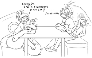 30 days OTP challenge - Day 09 Hanging out... by ChibiCorporation