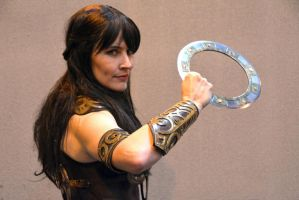 Xena Cosplay, Birmingham Comic-Con 2013 (7) by masimage
