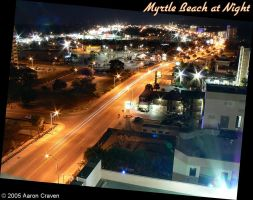 Myrtle Beach at Night 1 by eagle79