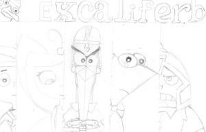 Excaliferb doodle by alterene