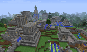 Minecraft: Old Terrawood City by C-MaxisGR