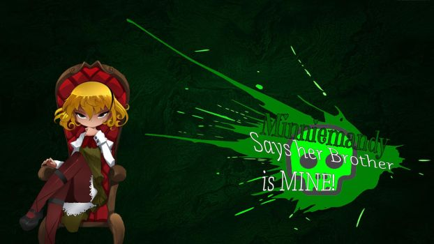 Minniemandy: Says her Brother is MINE! by snitchpogi12