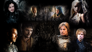 Game of Thrones - Iron Throne Wallpaper by Angelus23