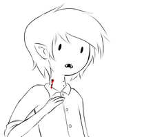 Marshall Lee gif - 'Oh, this?' by AngelLust155