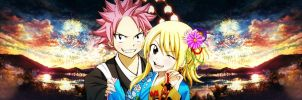 My new fanart Nalu- Fairy Tail by LukaFromFairyTail