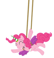 Alicorn Party Pinkie! by DrLonePony